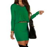 Sale-green Pure Luck Tunic