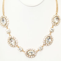 Crystal Clarisse Necklace Set - LARGE