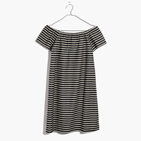 Striped Melody Off-the-Shoulder Dress : | Madewell