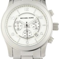 Michael Kors Men's Runway Silver-Tone Watch MK8086