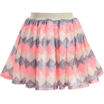 Billeblush Sequin Tulle skirt