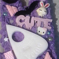 Spooky Pastel Goth Decoden Phone case for S4