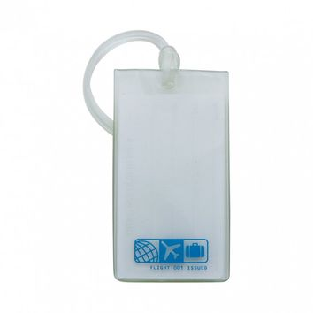 F1 RUBBER TAG CLEAR