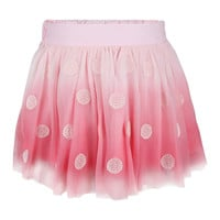 Pink Icing Mesh Dot Skirt - Infant, Toddler & Girls
