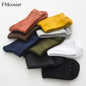 9 Pairs Summer Spring Happy Cotton Color Socks Woman Whort Ladies Socks Ankle Womens Winter Sheer Pokemon Sox Socs Calcetines