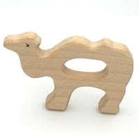 Baby Teething Toy Wooden camel Teething Toys New Born Gift wooden Rattle Natural Organic Toys Wooden Teether