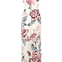 Floral Print Cut-Out Jumpsuit By Kendall + Kylie at Topshop - Topshop