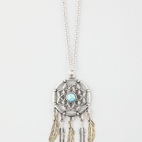 Full Tilt Beautiful Dream Catcher Pendant Necklace Metal One Size For Women 26426890101