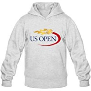 Men's Us Open Tennis 2016 Round Collar Pullover Hoodies Sweater