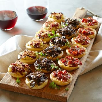 Assorted Mini Pizzas