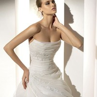 Cheap Pronovias Wedding Dresses - Style Mansion - Only USD $335.20
