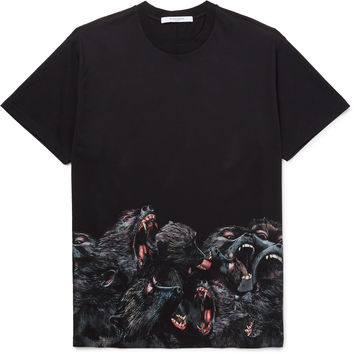 Givenchy - Columbian-Fit Printed Cotton-Jersey T-Shirt