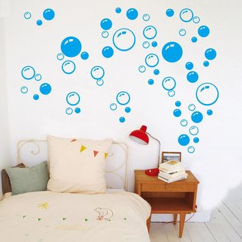 New Bubble Wall Art Bathroom Window Shower Tile Decoration Decal Kid wall Sticker 3 Color 701