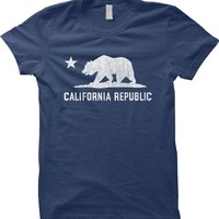 California Republic - Cali Bear WOMENS T-shirt Tee