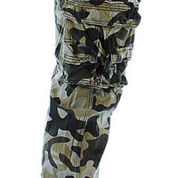 MO7 Most Official Seven Men's All Over Camouflage Cargo Pant