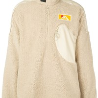 Sandy Beige Mountaineer Half-Zip Pullover by OFF-WHITE