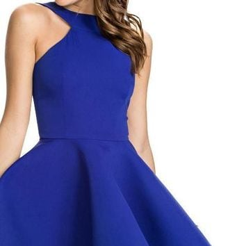 HDY Slim elegant halter dress off shoulder dress ball gown women summer dresses for and haoduoyi