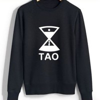 KPOP EXO Round Collar Hoodie 12 Members Sweater Pullover (D.O, XXL)