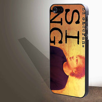 "ed sheeran sing  for iphone 4/4s/5/5s/5c/6/6+, Samsung S3/S4/S5/S6, iPad 2/3/4/Air/Mini, iPod 4/5, Samsung Note 3/4 Case ""005"""