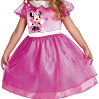 toddler girl's costume: pink minnie mouse basic