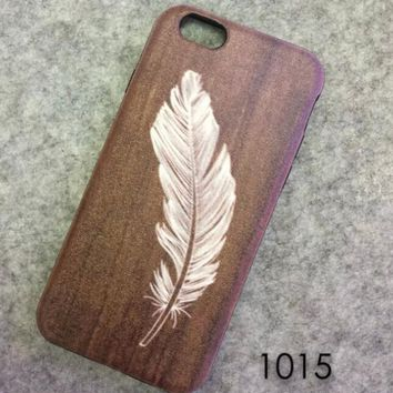 Feather Case Cover for iphone 6 6s Plus Gift 221-170928