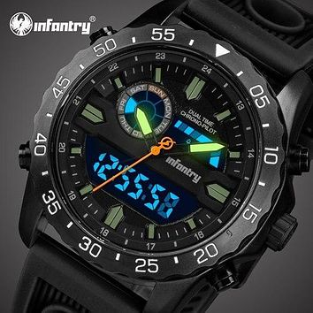Mens Watches Analog Digital Military Watch Men Tactical Army Watches