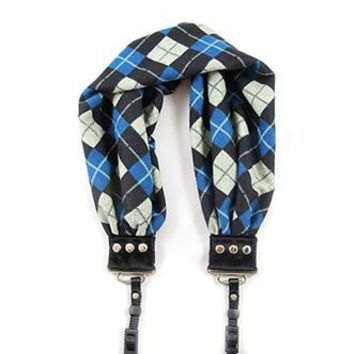 Joey Blue Scarf Camera Strap - Capturing Couture - CASCARF-JOEB