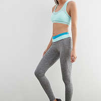 Colorblock Side Pocket Leggings