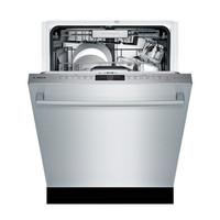 Shop Bosch Myway Rack 800 39-Decibel Built-in Dishwasher (Stainless Steel) (Common: 24-in; Actual: 23.5625-in) ENERGY STAR at Lowes.com