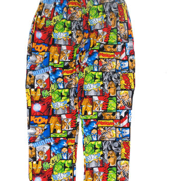 Marvels Avengers Assembly Lounge Pant Multi-Color P