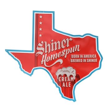 Texas Homespun Cream Ale Sign