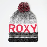 Roxy Tonic Pom Beanie - Womens Sweaters - Anthracite - One