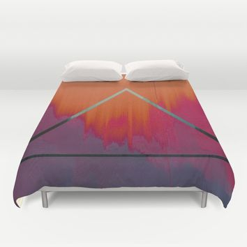 Clear as Day Duvet Cover by Ducky B