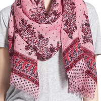 Madewell Oversize Border Paisley Scarf | Nordstrom