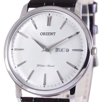 Orient Quartz Domed Crystal FUG1R003W6 Men's Watch