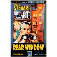 Rear Window Alfred Hitchcock Movie Poster 11x17