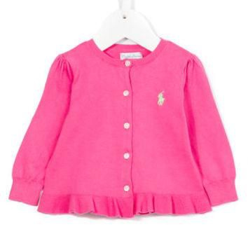 Ralph Lauren Kids Ruffled Cardigan - Farfetch