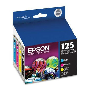 Epson Epson T125120-bcs 125 Combo-pack Ink Cartridges