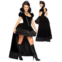 Black Enchanting Queen Costume