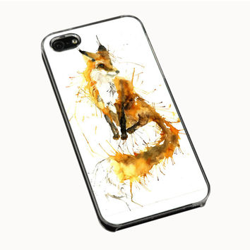 Splash Watercolor Fox IPhone 5 | 5S 5C 4 | 4S Case