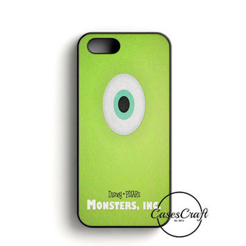 Monster Inc Green Mike iPhone 5/5S/SE Case