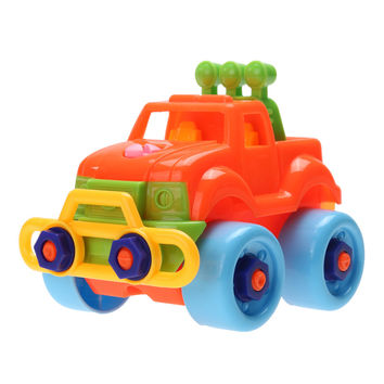 Pop Christmas Gift Baby Kids Disassembly Assembly Classic Car Toy Child Kids Toys Educational Toys