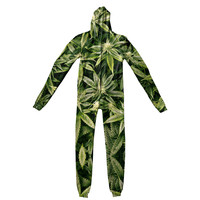 Kush Leaves Adult Jumpsuit