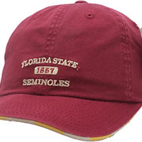 Florida State Seminoles Hat Buckle Back Squeezed 11513