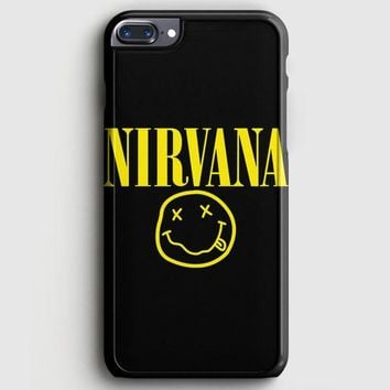 Nirvana On Floral Art Kurt Cobain Dave Grohl iPhone 8 Plus Case | casescraft
