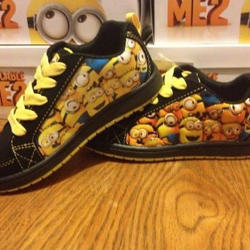 Despicable Me Minion Shoes Yellow/Black Toddler Boys (1)