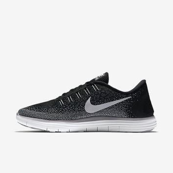 The Nike Free RN Distance Men's Running Shoe.