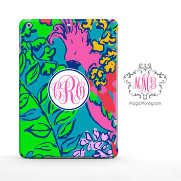 Shake Your Tailfeather Lilly Pulitzer Monogram iPad Air Case, iPad Mini Case