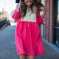 Power Of Love Dress, Pink