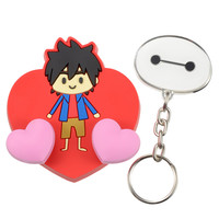 [Disney Store]Hiro & Baymax graffiti key hook: If you want to buy presents and gifts online, we recommend the Disney Store.